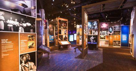 Das «Music City» informiert rund um afroamerikanische Musik. Gezeigt werden 1500 Exponate, darunter viele Erinnerungsstücke der Künstler.