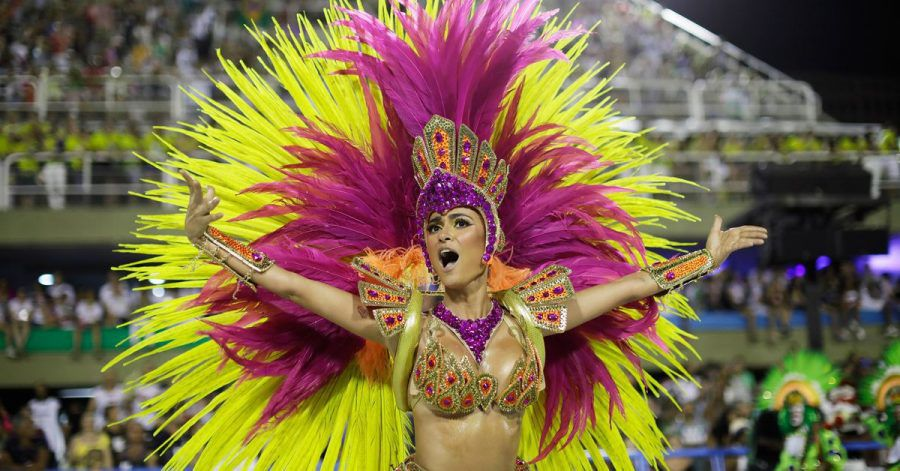 Kein Samba in Rios Straßen: Der weltberühmte Karneval fällt wegen der Corona-Pandemie in diesem Jahr ganz aus.