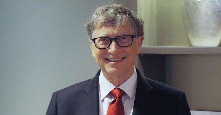 Bill Gates fühlt sich nach seiner Corona-Impfung großartig.