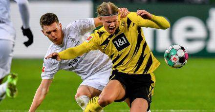 Das Spiel Borussia Mönchengladbach gegen Borussia Dortmund hat die meisten Zuschauer vor die Bildschirme gelockt.