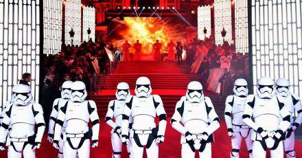 Europa-Premiere von «Star Wars:Die letzten Jedi» 2017 in London.