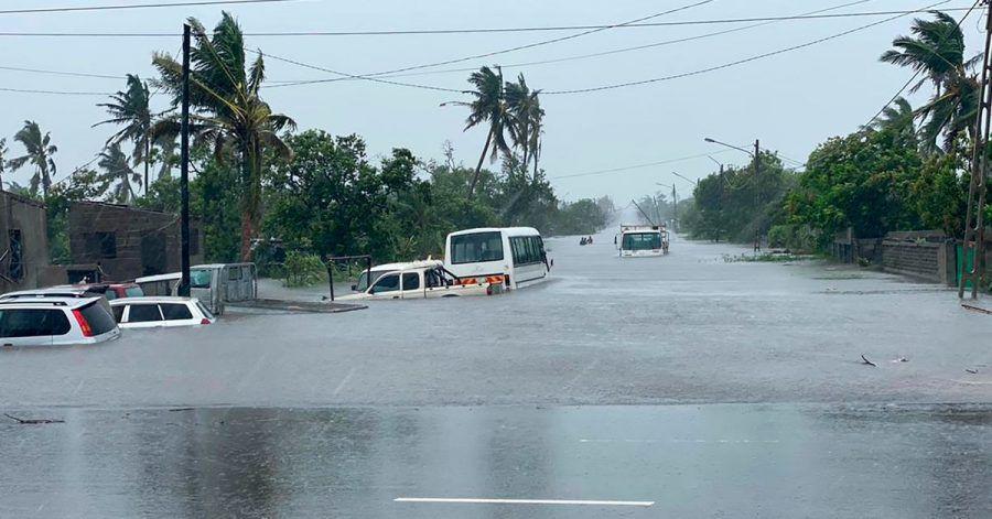 Der tropische Wirbelsturm «Eloise» führte 2021 zu Überschwemmungen in Mozambik.