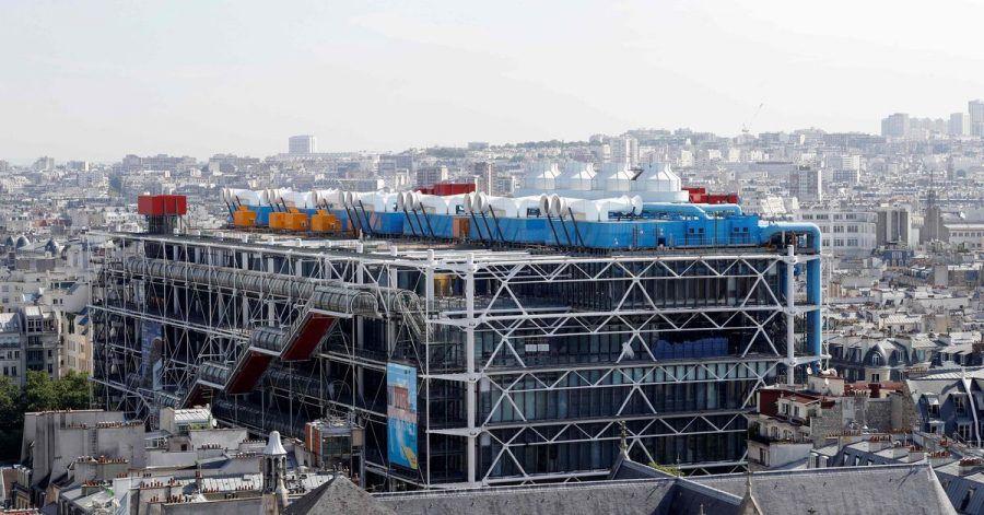 Das Centre Georges Pompidou in Paris macht dicht.