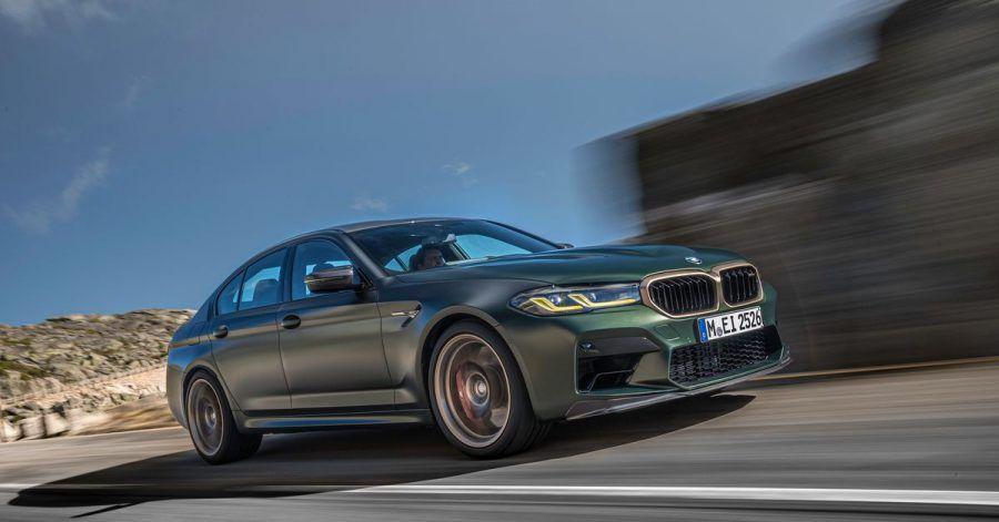 Bayerischer Dampfhammer: Der BMW M5 kommt in der CS-Version auf 635 PS.