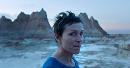 Frances McDormand in einer Szene des Films «Nomadland».
