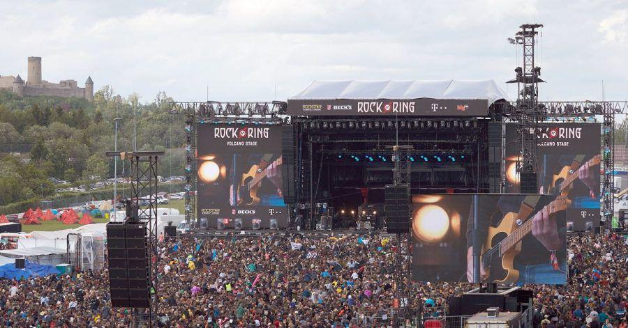 Auftritt von Feine Sahne Fischfilet bei «Rock am Ring».
