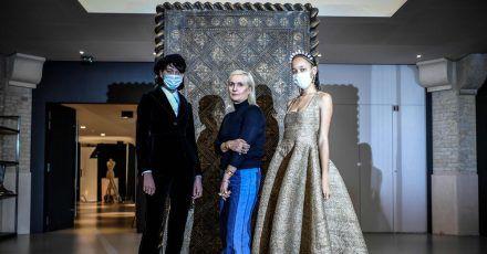 Dior-Kreativdirektorin Maria Grazia Chiuri präsentierte ihre Kreationen in einem Märchenfilm.