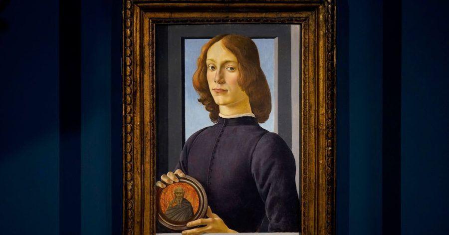 Aus Privatbesitz versteigert:Sandro Boticellis Gemälde «Junger Mann mit Medaillon».