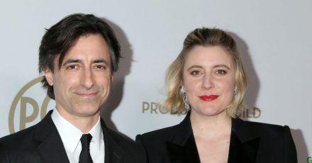 US-Regisseur Noah Baumbach und Schauspielerin Greta Gerwig kommen im Januar 2020 zur Verleihung der Producers Guild Awards in Los Angeles.