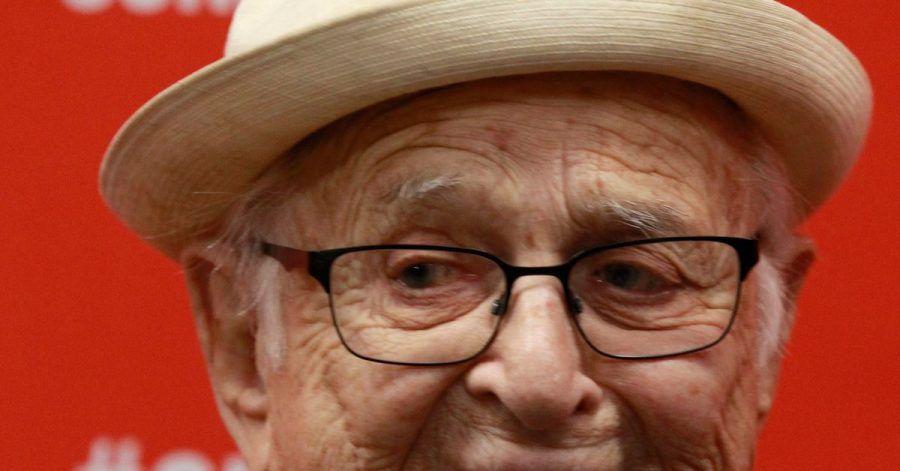 Norman Lear, US-Fernsehproduzent, kommt 2016 zu  einer Filmpremiere beim Sundance Film Festival in den USA.