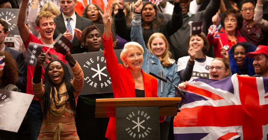 Vivienne Rook (Emma Thompson) wird Premierministerin.