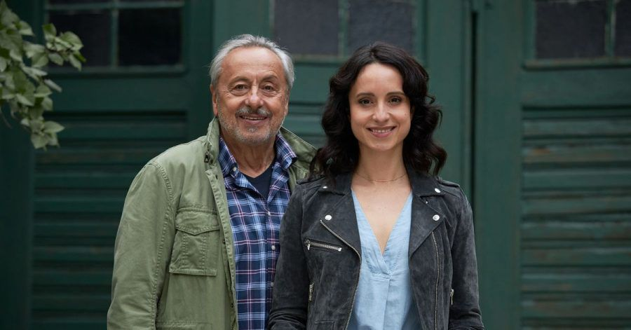 Vater und Tochter: Wilfried Stubbe (Wolfgang Stumph) und Tochter Christiane (Stephanie Stumph).