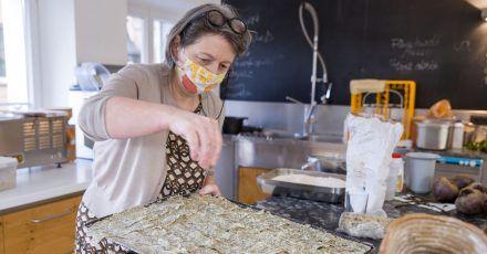 Gabriele Hussenether, Inhaberin der Kochschule Mobile Kochkunst in Nürnberg.