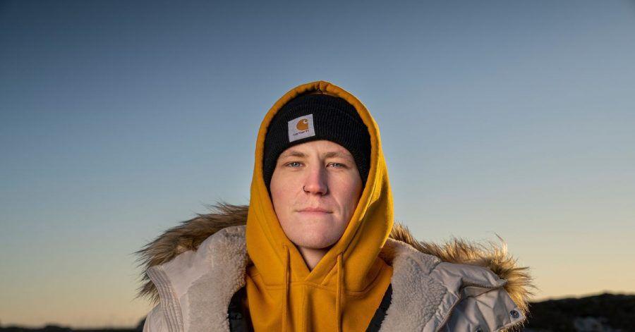 Nathan Evans, Postbote und Sänger aus Schottland.