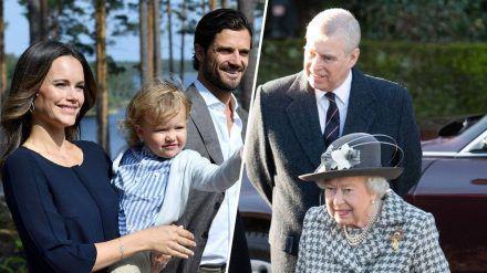 Von Baby-Vorfreude in Schweden bis zu Bammel vorm Gerichtsprozess im Vereinigten Königreich: Das steht 2021 für die Royals an. (ncz/spot)