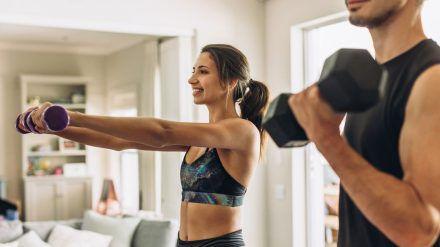 Gerade im neuen Jahr nehmen sich viele vor, mehr Sport zu treiben. (amw/spot)
