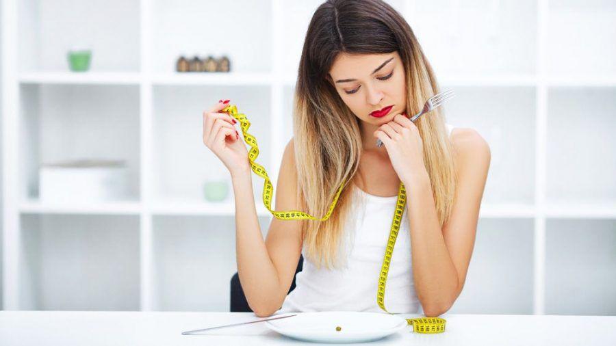 Wenig zu essen führt nicht automatisch zum Gewichtsverlust. (eee/spot)
