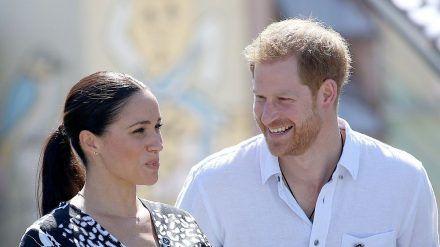 Meghan und Harry scheinen glücklich zu sein (wue/spot)