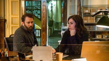 """Wie geht es mit Kommissar Lessing (Christian Ulmen) und Kira Dorn (Nora Tschirner"""" im Weimar-""""Tatort"""" weiter? (dr/spot)"""