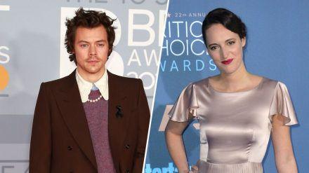 Harry Styles bekommt Unterstützung von Schauspielerin Phoebe Waller-Bridge. (wag/spot)