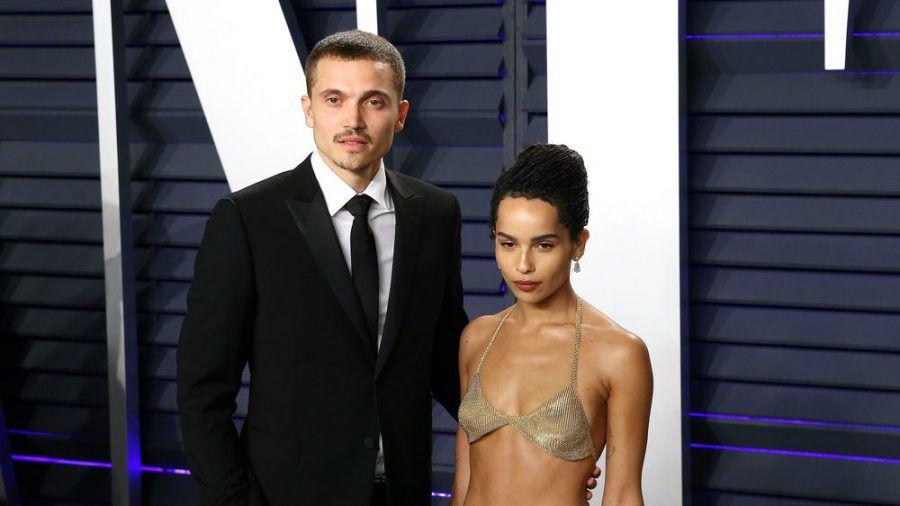Karl Glusman und Zoë Kravitz auf einem Event im Jahr 2019. (wue/spot)