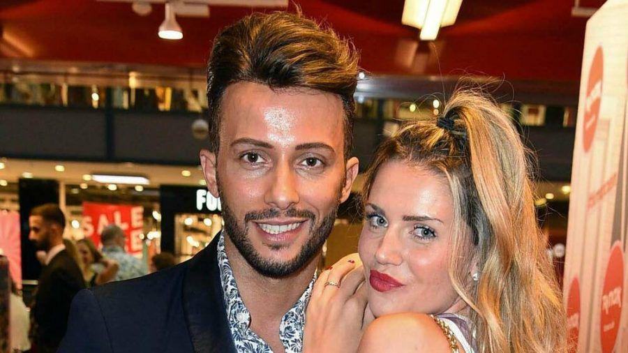 Ein Bild aus glücklichen Tagen: Domenico De Cicco mit seiner Freundin Julia bei einem Event 2019. (rto/spot)