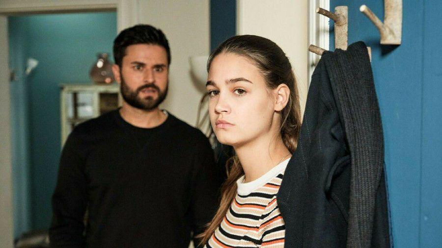 """""""Unter uns"""": Leni macht Paco die Ansage, sich aus ihrem Leben rauszuhalten. (cg/spot)"""