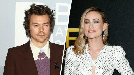 Harry Styles und Olivia Wilde drehen derzeit einen Film zusammen. (stk/spot)