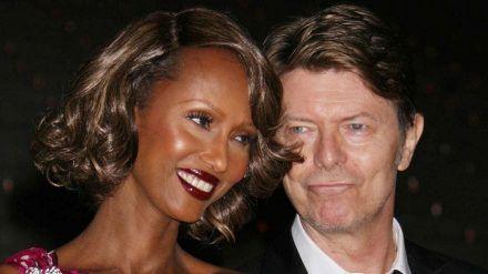 Ein echtes Traumpaar: David Bowie und Iman. (mia/spot)