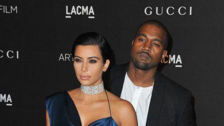 Ein Bild aus glücklicheren Tagen: Kim Kardashian und Kanye West 2014 in Los Angeles. (dr/spot)