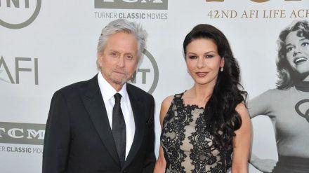 Michael Douglas und Catherine Zeta-Jones haben zwei gemeinsame Kinder. (wag/spot)