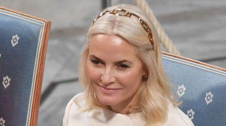 Mette-Marit bei einem Auftritt in Oslo (hub/spot)
