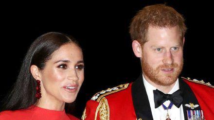 Herzogin Meghan und Prinz Harry bei einem Auftritt in London (hub/spot)