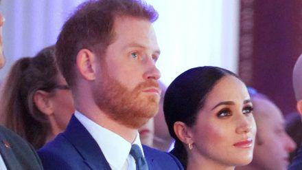 Prinz Harry und Herzogin Meghan bei einem Auftritt in London. (hub/spot)