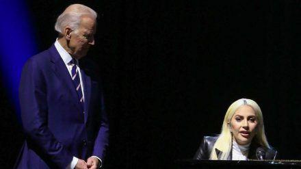 Joe Biden und Lady Gaga im Jahr 2016 (wue/spot)