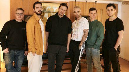 """Tokio Hotel haben gemeinsam mit Vize die Single """"White Lies"""" produziert. (jom/spot)"""