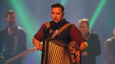 Andreas Gabalier bei einem Auftritt im Jahr 2019 (wue/spot)