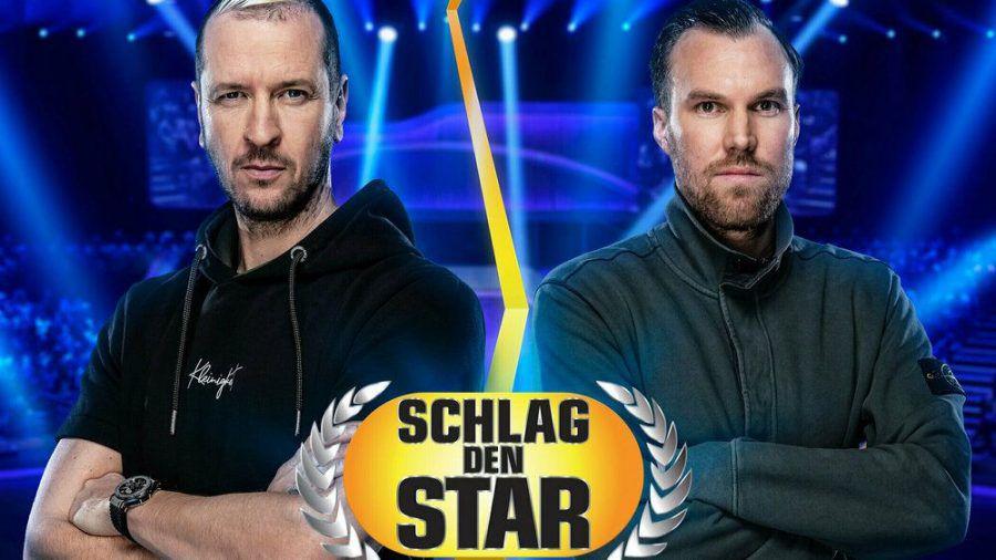 Pascal Hens (l.) und Kevin Großkreutz treten gegeneinander an. (elm/spot)