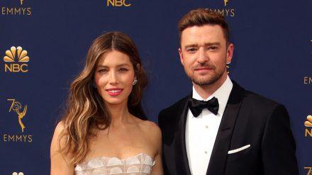 Jessica Biel und Justin Timberlake bei einem Auftritt in Los Angeles (hub/spot)