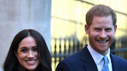 Prinz Harry und Herzogin Meghan setzen ihre wohltätige Arbeit fort. (hub/spot)
