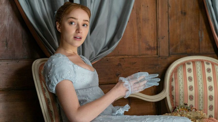 "Phoebe Dynevor als Daphne Bridgerton in ""Bridgerton"" (wue/spot)"