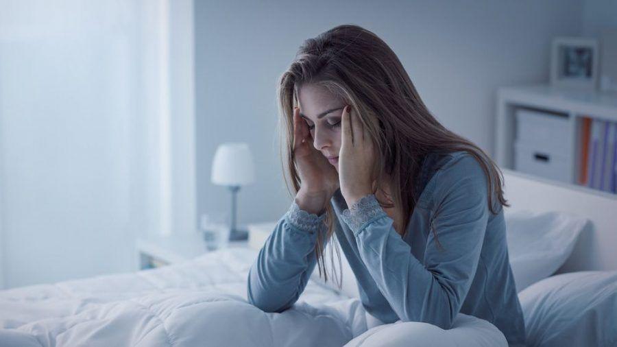 Schlafprobleme können mit der Ernährung zusammenhängen. (amw/spot)