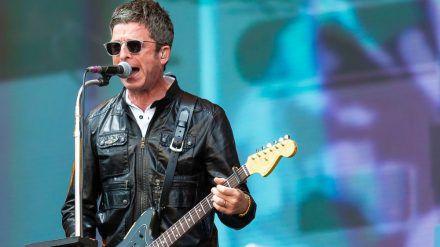 Noel Gallagher bei einem Auftritt in Schottland. (hub/spot)