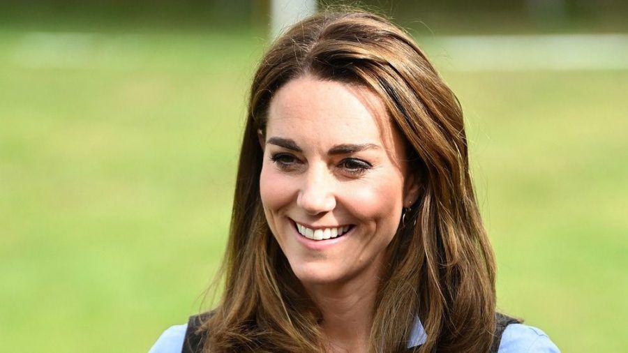 Herzogin Kate hat die Arbeit der Krankenhausmitarbeiter gewürdigt: (hub/spot)