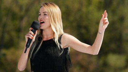 """Kann """"Let's Dance""""-Tänzerin Katja Kalugina die """"DSDS""""-Jury überzeugen? (cos/spot)"""