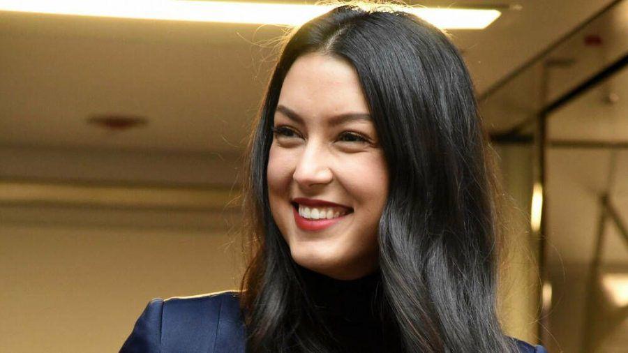 Model und Moderatorin Rebecca Mir erwartet das erste Kind. (cos/spot)