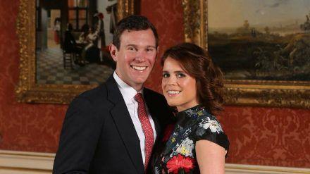 Das offizielle Verlobungsporträt von Prinzessin Eugenie und Jack Brooksbank - nun teilte sie einen privaten Schnappschuss dieses Moments. (ncz/spot)