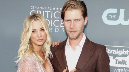 Kaley Cuoco und Ehemann Karl Cook bei den Critics' Choice Awards 2018. (jom/spot)