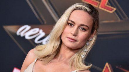 "Brie Larson 2019 bei der ""Captain Marvel""-Weltpremiere in Los Angeles. (ncz/spot)"