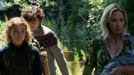 Evelyn (Emily Blunt) kämpft weiter mit ihren Kindern ums Überleben (stk/spot)